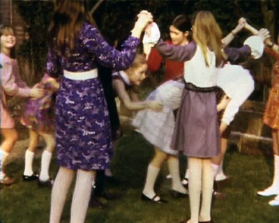 [Ruth's birthday party and school days]