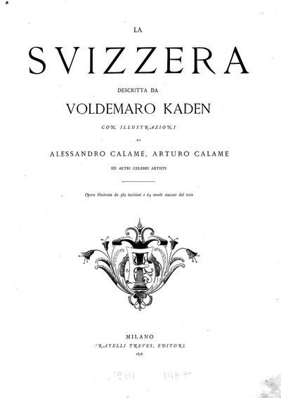 Image from object titled La Svizzera