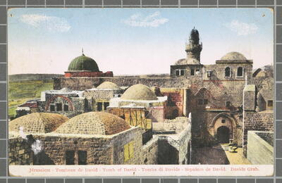 Image from object titled Jérusalem - Sepulcro de David