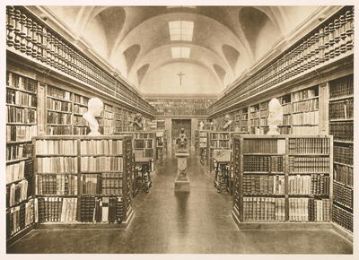 Image from object titled Biblioteca del Monestir