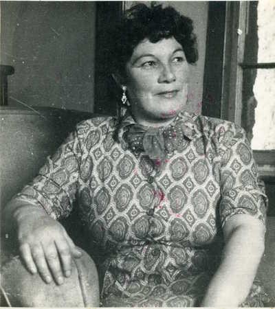 Jeannie Robertson. Hayton, Aberdeen, Scotland