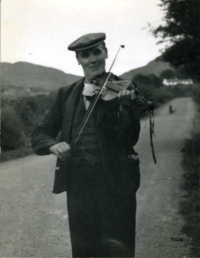 John Doherty and Peter Kennedy. Donegal, Ireland, 1953