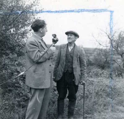 Sean O'Boyle and Peter Donnelly. Castlecaulfield, Co. Tyrone, Northern Ireland, 1952