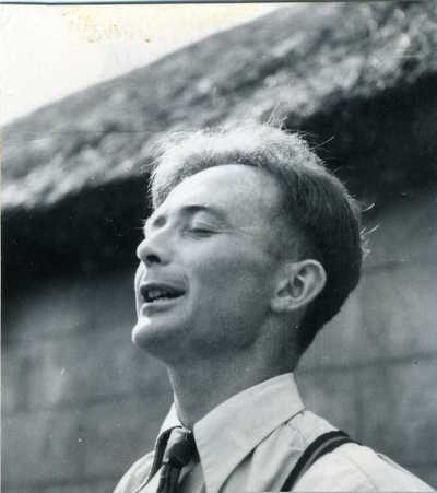 Paddy Tunney. Beleek, Co. Fermanagh, Northern Ireland, 1952