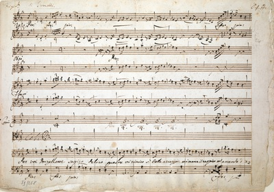 Image from object titled Nicolò Jommelli: Aria 'Per voi Donzellette sospiro', for bass voice and orchestra