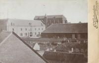 Het Arsenaal, de Mariënburgkapel, de Israëlische begraafplaats en het kruitmagazijn