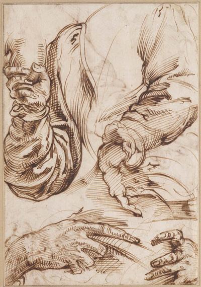 Studies van handen en armen