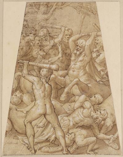 Gevecht tussen Lapithen en centauren
