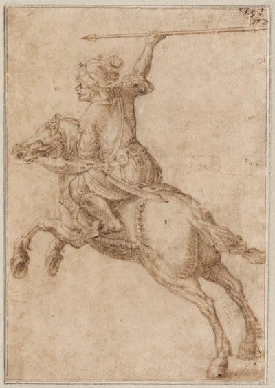 Oosters soldaat te paard