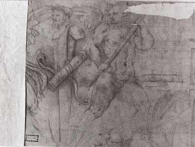 Ontscheping van Romeinse vaandels