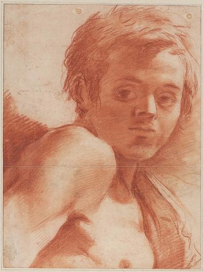 Image from object titled Kop en schouders van jonge man