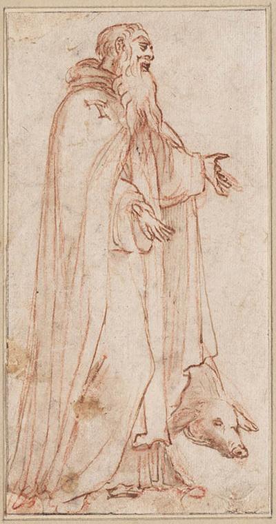 De heilige Antonius Abt