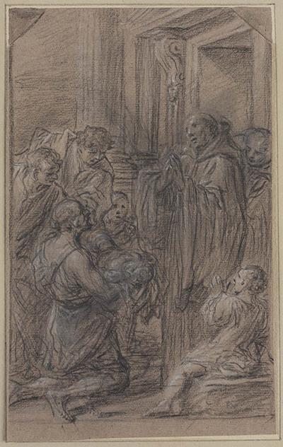 Heilige wekt een kind tot leven
