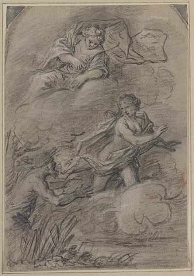 Alpheus achtervolgt Arethusa