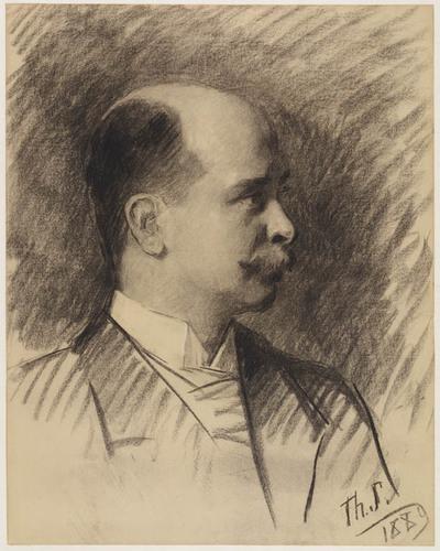 Portret van J.J.S.R. Zimmerman, 1889