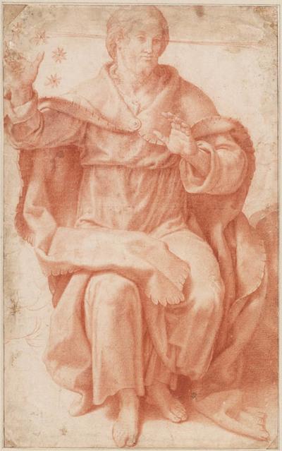 Christus tijdens het Laatste Oordeel