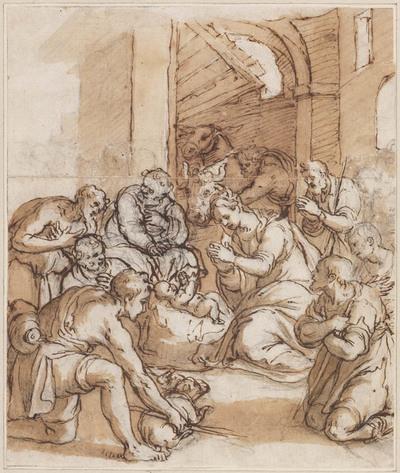 Image from object titled Aanbidding door de herders