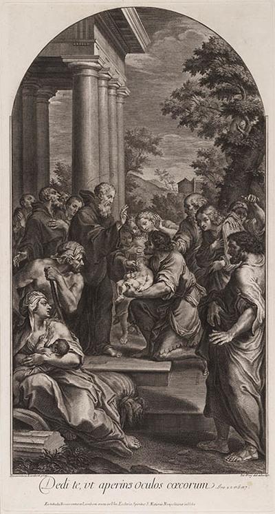 Francesco di Paola wekt een kind tot leven