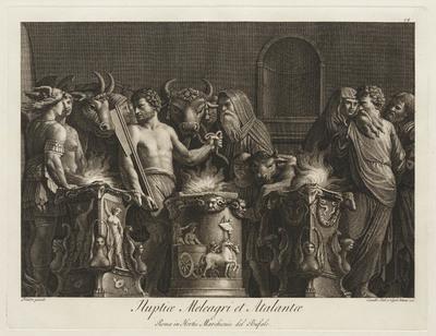 Huwelijk van Meleager en Atalanta