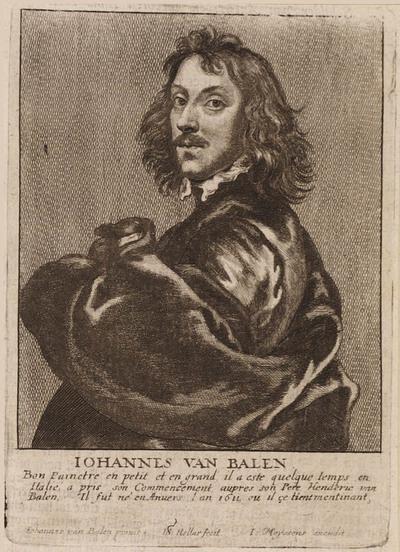 Portret Johannes van Balen