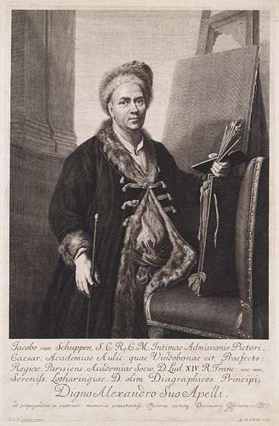 Portret J. van Schuppen