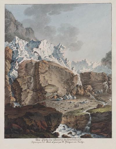 Gletscher bij Grindelwald