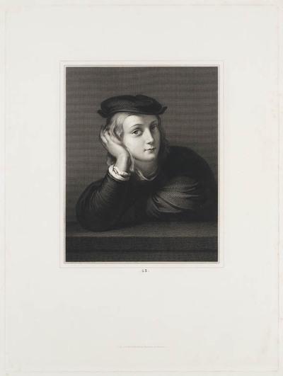 Portret jongeman (Rafael z.g.)