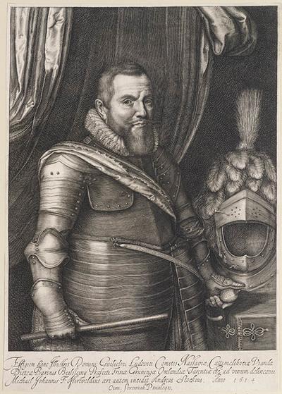 Portret Willem Lodewijk Graaf van Nassau