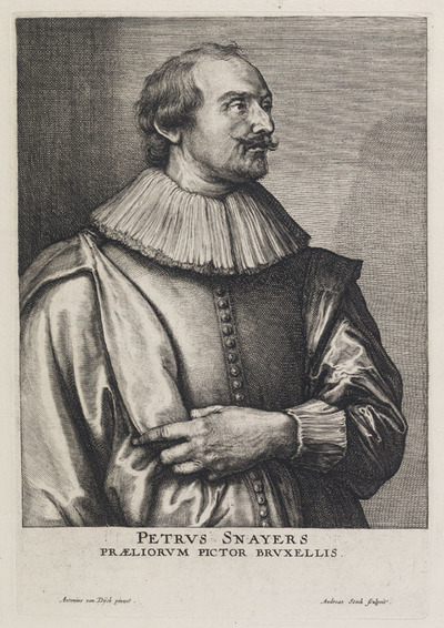 Portret Pieter Snayers (1592-na 1666)