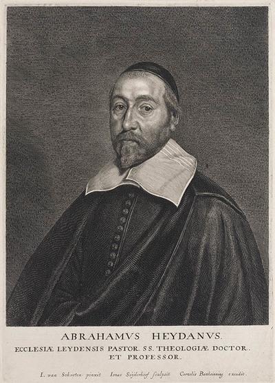 Portret Abraham Heydan