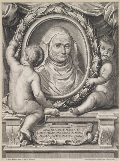 Portret Columba de Tofaninis