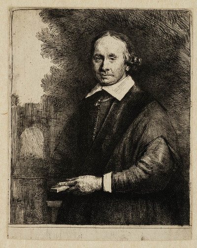 Portret Jan Antonides van der Linden