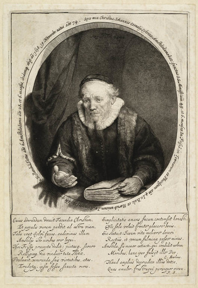 Image from object titled Portret Jan Cornelis Sylvius (1564-1638)