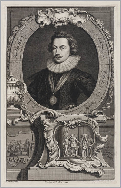 Image from object titled The Heads of Illustrious persons: George Villiers hertog van Buckingham