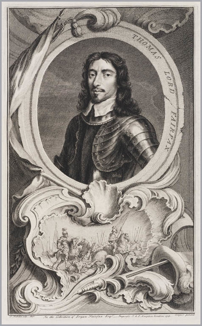 Image from object titled The Heads of Illustrious persons: Thomas Lord Fairfax