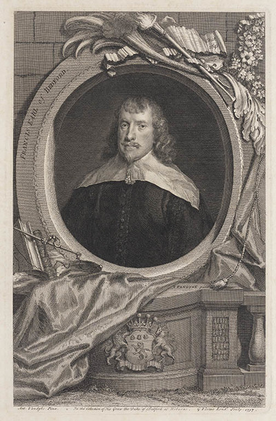 Image from object titled The Heads of Illustrious persons: Francis graaf van Bedford