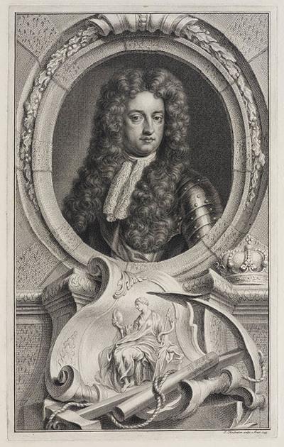 Image from object titled Portret George prins van Denemarken