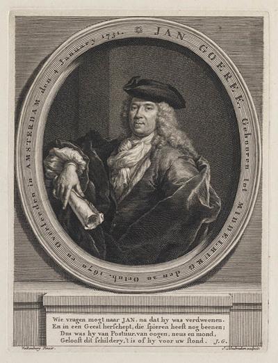 Portret Jan Goeree, dichter