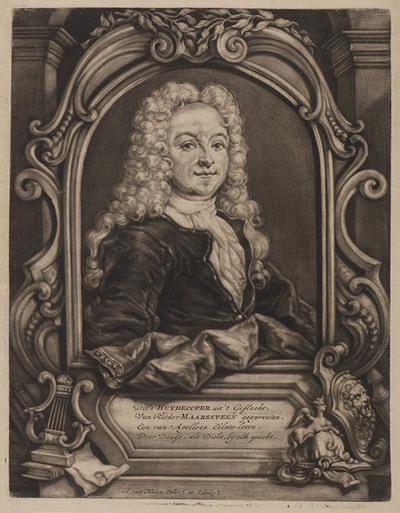 Portret Balthasar Huydecoper, dichter
