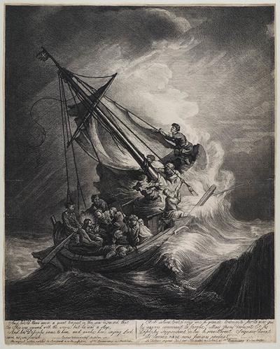 Christus op het Meer van Tiberias