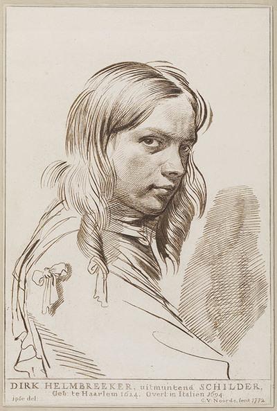 Portret Dirk Helmbreker, schilder