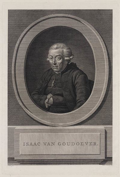 Portret Isaac van Goudoever