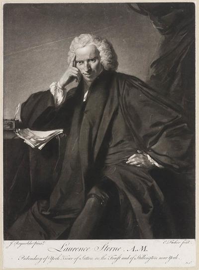 Portret dominee Lawrence Sterne