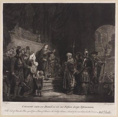 Image from object titled Daniël bewijst de onschuld van Suzanna