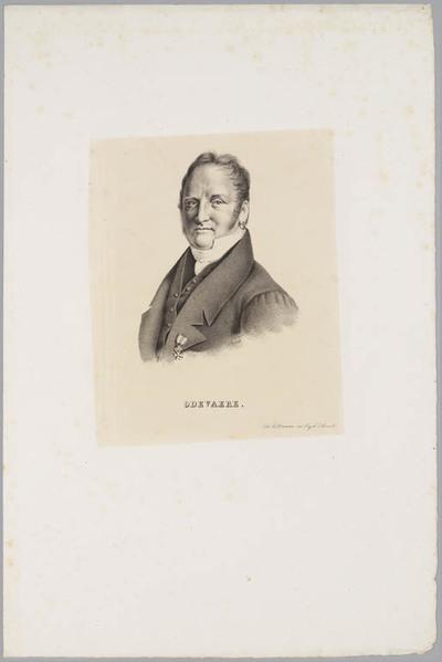 Portret Joseph-Denis Odevaere (1775-1830)