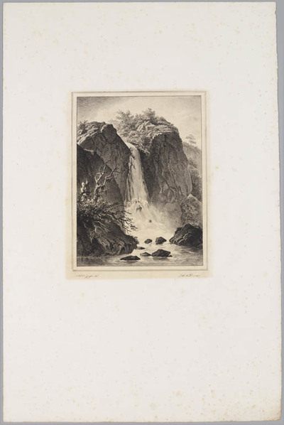 Image from object titled Landschap met waterval