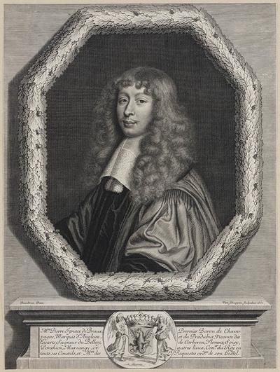 Portret Pierre Ignace de Braux