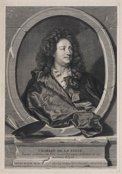 Portret Charles de la Fosse