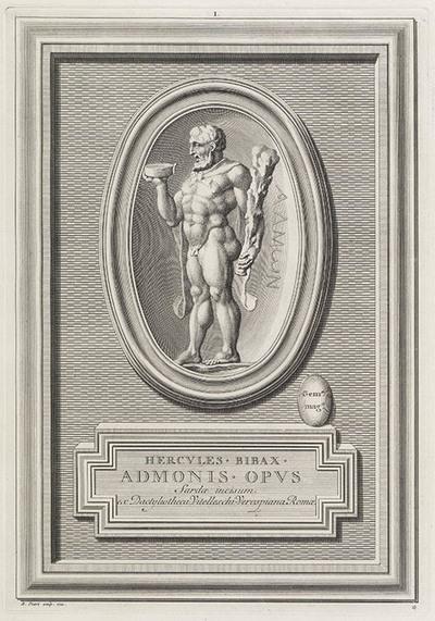 Gemmae Antiquae Caelatae. Pierres antiques gravées, (...) par Bernard Picart. (...) expliquées par M. Philippe de Stosch.