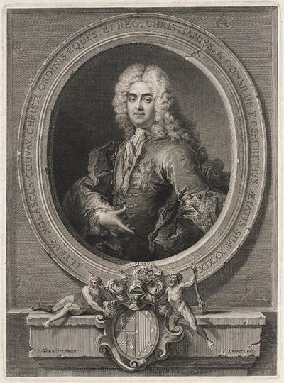 Portret van Petrus Nolascus Couvay.
